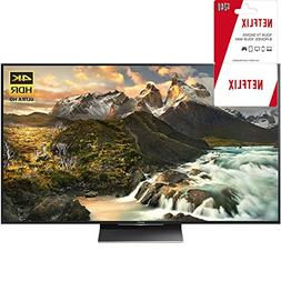 "Sony XBR-75Z9D 75"" Class 4K Ultra HD TV with 2 Year Netflix"