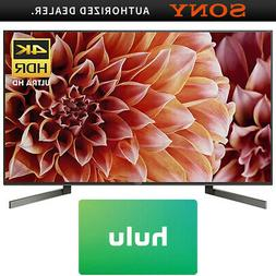 Sony XBR55X900F 55-Inch 4K UHD Smart LED TV  w/ Hulu $50 Gif