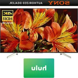Sony XBR75X850F 75-Inch 4K UHD Smart LED TV  w/ Hulu $50 Gif